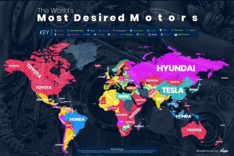 most-googled-car-brands